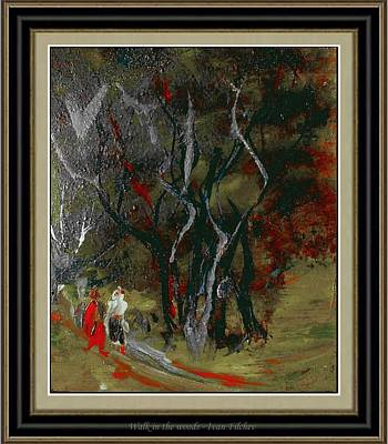 Landscape Painting - Walk In The Woods by Ivan Filchev
