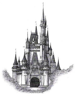 Walt Disney World Cinderella Castle Original by Charles Ott
