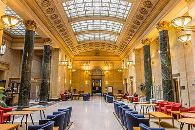 University Of Minnesota Photograph - Walter Library by Le Phuoc