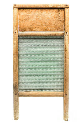 Old Washboards Photograph - Washboard by Olivier Le Queinec