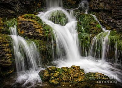 Waterfall Print by Carlos Caetano