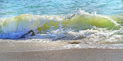 North Carolina Coast Photograph - Green Wall by Betsy Knapp