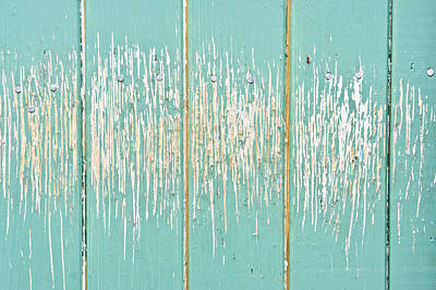 Crackle Photograph - Weathered Wood by Tom Gowanlock