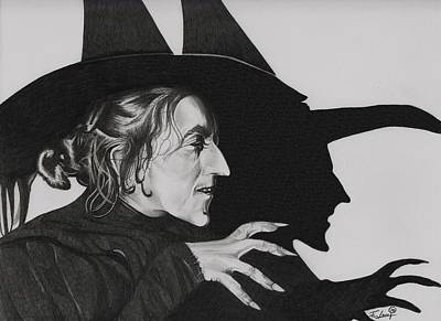 Wicked Witch Of The West Original by Fred Larucci