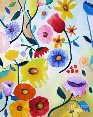 Wildflowers Print by Venus
