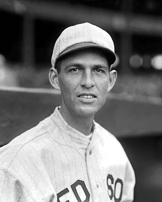 Red Sox Photograph - William J.b. Slim Harriss by Retro Images Archive