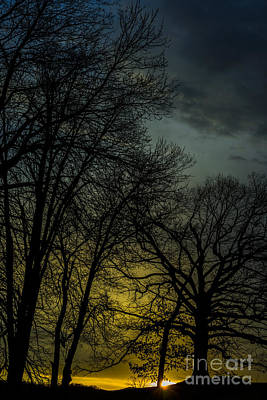 Winter Solstice Photograph - Winter Solstice Sunrise by Thomas R Fletcher