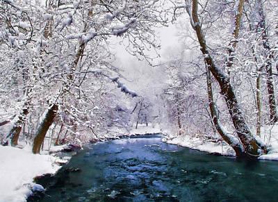 Winter White Print by Jessica Jenney