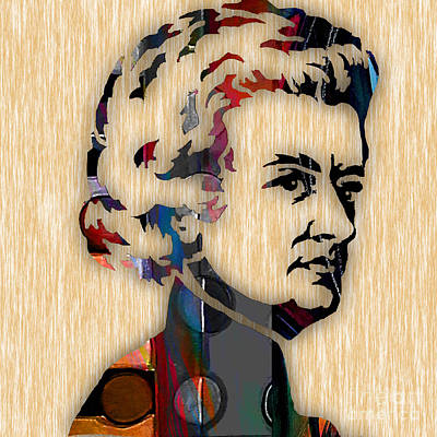 Wolfgang Amadeus Mozart Collection Print by Marvin Blaine