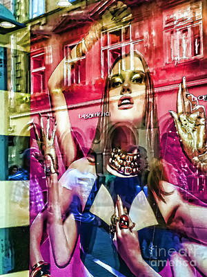 Prague Digital Art - Women by Justyna JBJart
