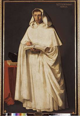 Jer Photograph - Zurbaran, Francisco De 1598-1664. Fray by Everett