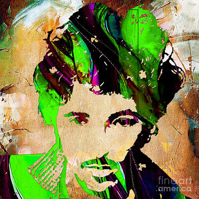Bruce Mixed Media - Bruce Springsteen by Marvin Blaine