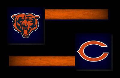 Offense Photograph - Chicago Bears by Joe Hamilton