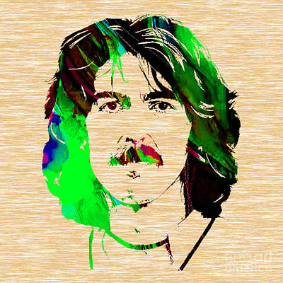 George Harrison Collection Print by Marvin Blaine