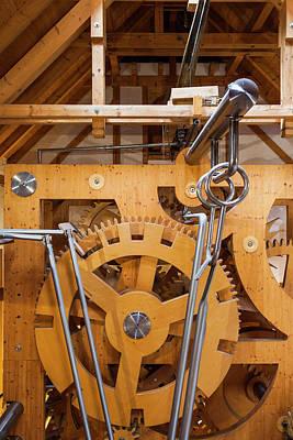 Mechanism Photograph - Germany, Baden-wurttemburg, Black by Walter Bibikow