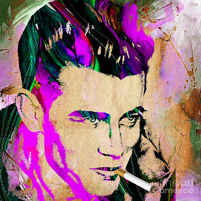 James Mixed Media - James Dean Collection by Marvin Blaine