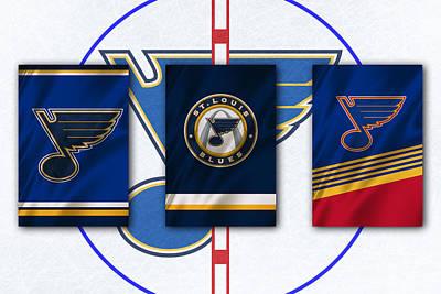 Hockey Photograph - St Louis Blues by Joe Hamilton