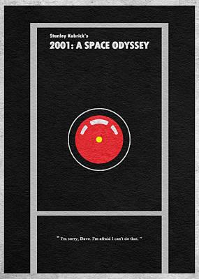 2001 A Space Odyssey Print by Ayse Deniz