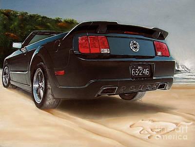 2005 Roush Mustang Print by Paul Kuras