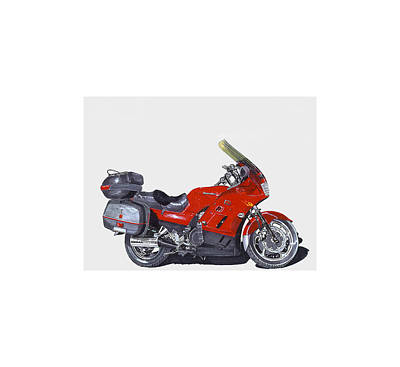 2006 Kawasaki Constilation Cruiser Print by Jack Pumphrey