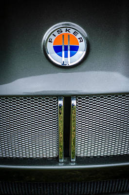 2006 Photograph - 2006 Mercedes-benz Fisker Tramonto Convertible Emblem by Jill Reger