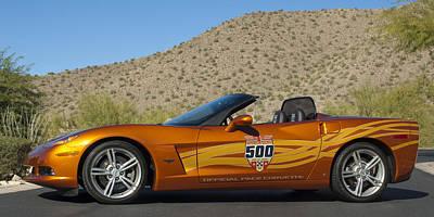 2007 Chevrolet Corvette Indy Pace Car Print by Jill Reger