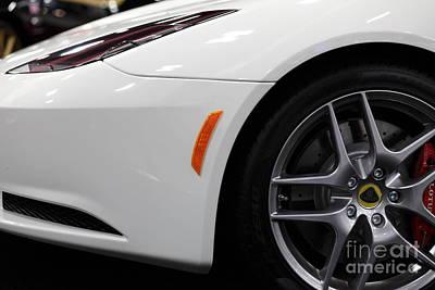 Lotus Racecar Photograph - 2012 Lotus Evora - 5d20206 by Wingsdomain Art and Photography