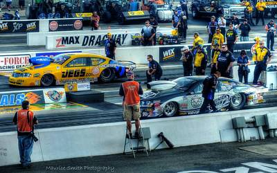 2013 Carlyle Tools Nhra Carolina Nationals #2 Print by Maurice Smith