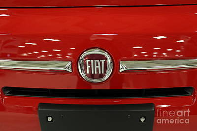 2013 Fiat - 5d20465 Print by Wingsdomain Art and Photography