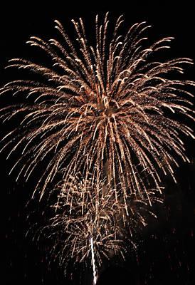 Fireworks 2014 Iv Original by Suzanne Gaff