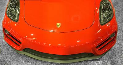 Automobile Photograph - 2014 Porsche Cayman S by John Straton