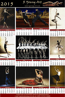2015 Fine Art Calendar Print by Richard Young