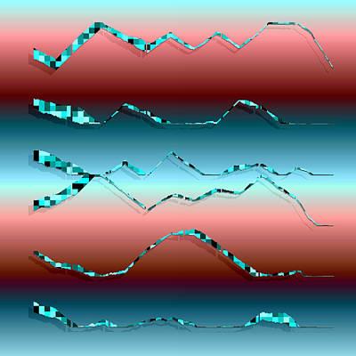 Squares Digital Art - 2048.2.27 by Gareth Lewis