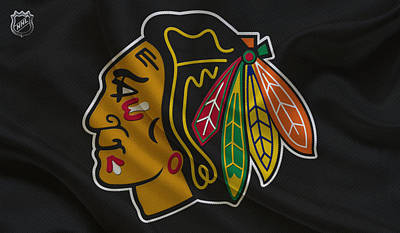 Hockey Sweaters Photograph - Chicago Blackhawks by Joe Hamilton