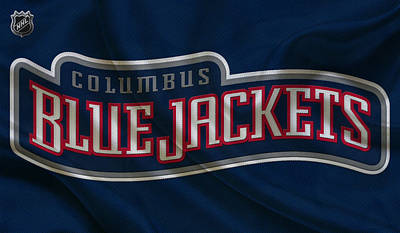 Columbus Blue Jackets Print by Joe Hamilton