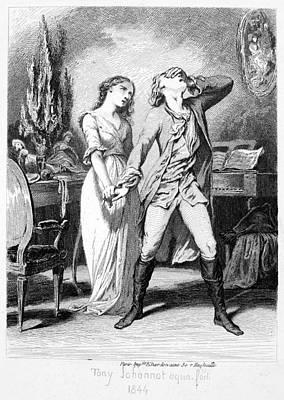 Goethe Werther Print by Granger