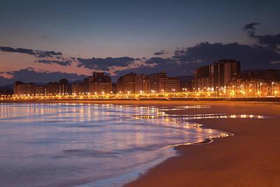 Asturias Photograph - Spain, Asturias Region, Asturias by Walter Bibikow