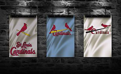Baseball Uniform Photograph - St Louis Cardinals by Joe Hamilton