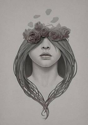 Petals Digital Art - 214 by Diego Fernandez