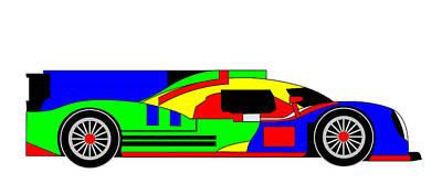 Digital Art - 22 Hours Of Competiveness - 4 Colors by Asbjorn Lonvig