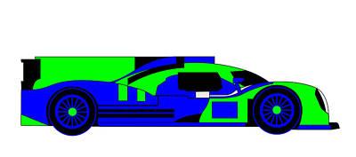 Digital Art - 22 Hours Of Competiveness - Blue Green by Asbjorn Lonvig