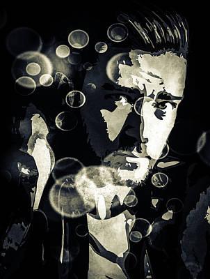 Justin Digital Art - Justin Timberlake by Svelby Art