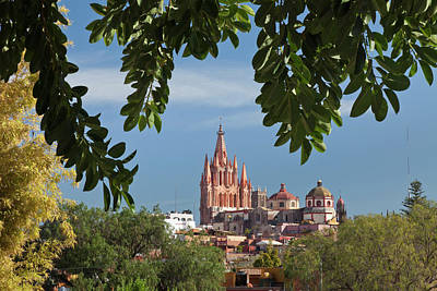 Archangel Photograph - Mexico, San Miguel De Allende by Jaynes Gallery