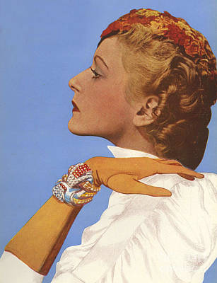 Women�s Fashion 1930s 1939 1930s Uk Print by The Advertising Archives