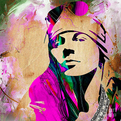 Axl Roxe Collection Print by Marvin Blaine