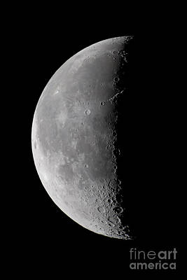 Tycho Photograph - 23 Day Old Waning Moon by Alan Dyer