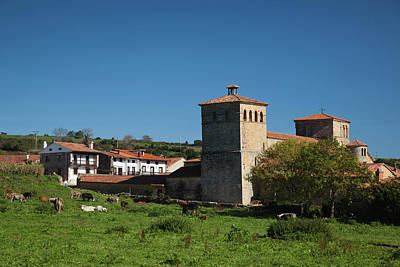Iglesia Photograph - Spain, Cantabria Region, Cantabria by Walter Bibikow
