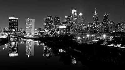 Philadelphia Skyline Photograph - 23 Th Street Bridge Philadelphia by Louis Dallara