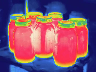 Ir Photograph - Thermogram by Science Stock Photography