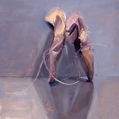 Ballet Shoes Painting - Rcnpaintings.com by Chris N Rohrbach